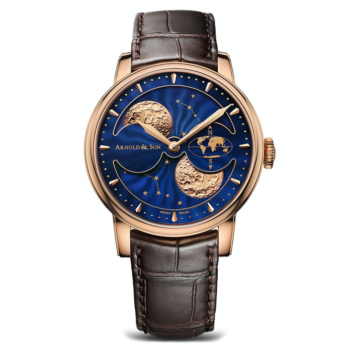 The Arnold & Son HM Double Hemisphere Perpetual Moon