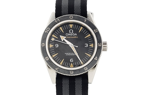 728318fce50 Breaking News  James Bond s Omega Seamaster From  Spectre  Just Sold ...