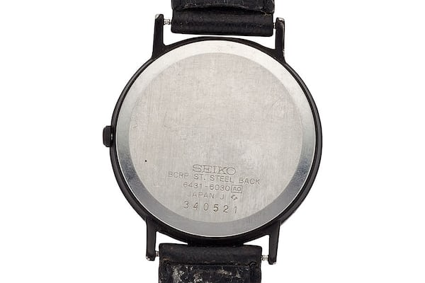 steve jobs' watch