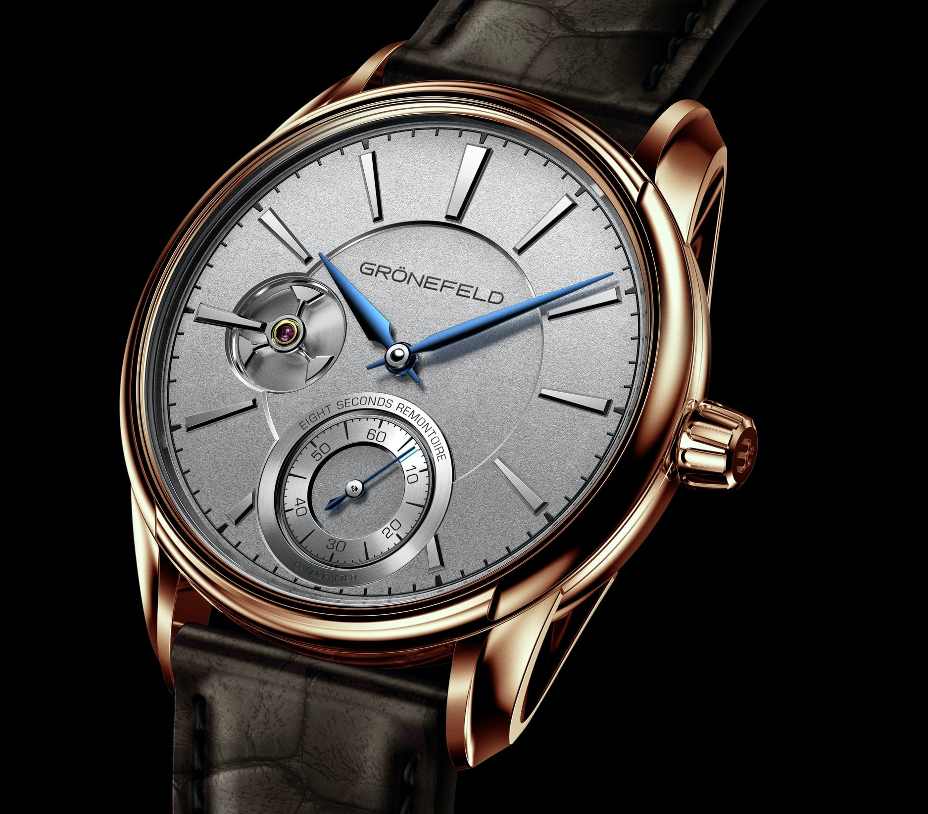 Introducing: The Grnefeld 1941 Remontoire, Inspired By A Church Clock In The Grnefeld Family's Care For Two Generations Introducing: The Grnefeld 1941 Remontoire, Inspired By A Church Clock In The Grnefeld Family's Care For Two Generations 66