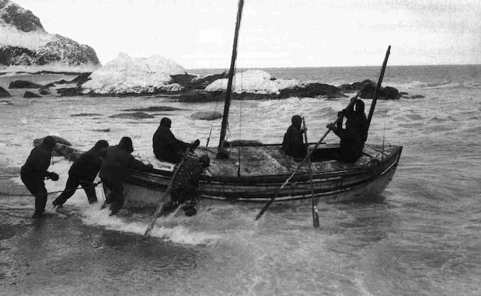 james caird elephant island