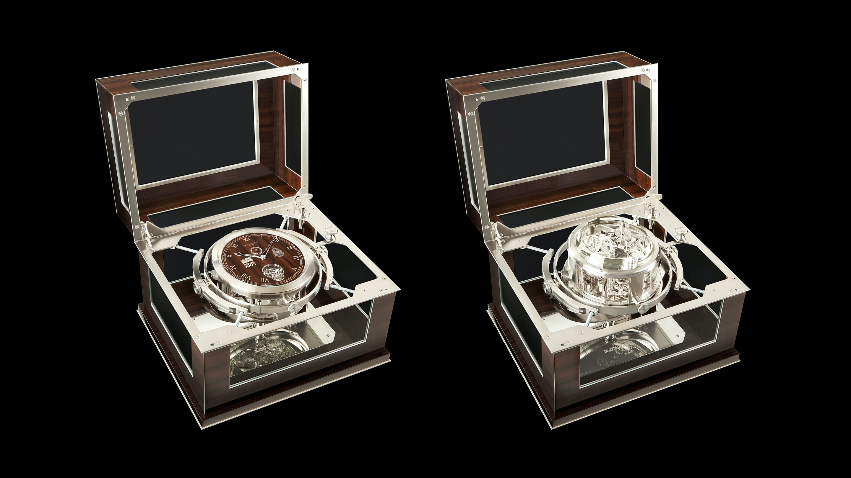 Introducing: A Thomas Mercer One-Off Marine Chronometer Made To Accompany A Re-Creation Of Shackleton's Epic Voyage