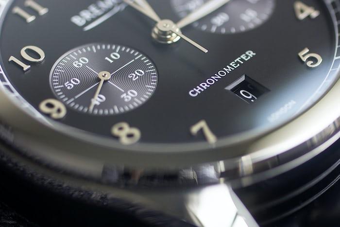 Bremont ALT1-C/PB dial closeup