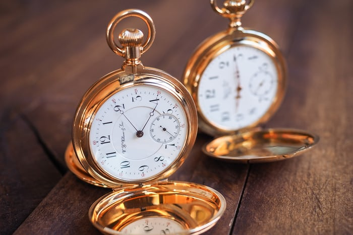 Girard-Perregaux pocket watch 1890