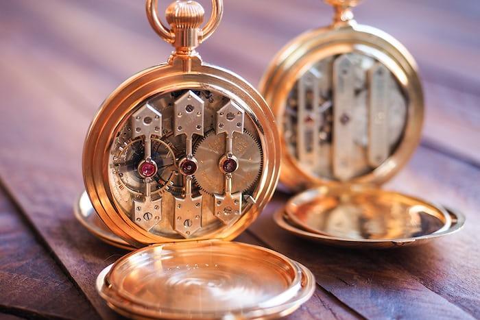 Girard-Perregaux pocket watch 1890 movement