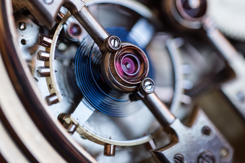 Girard-Perregaux pocket watch 1890 balance spring