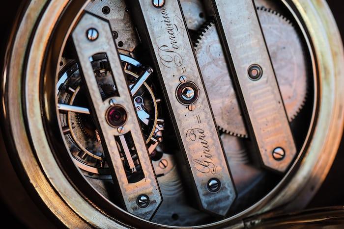 Girard-Perregaux pocket watch three bridge tourbillon 1860 tourbillon carriage