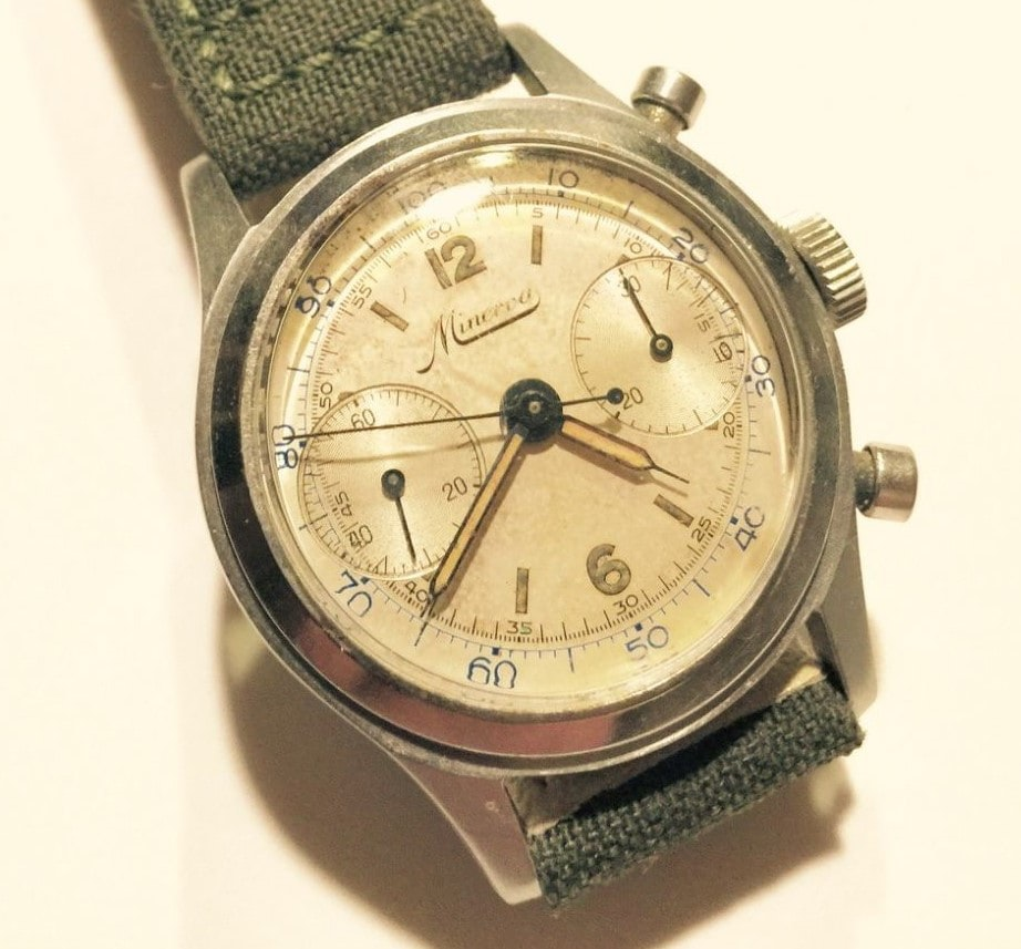 Minerva Chronograph Reference 1335 Bring a Loupe: A Diverse Selection Ranging From A $500 Takano To A $25,000 Rolex GMT Retailed By Tiffany Bring a Loupe: A Diverse Selection Ranging From A $500 Takano To A $25,000 Rolex GMT Retailed By Tiffany 6
