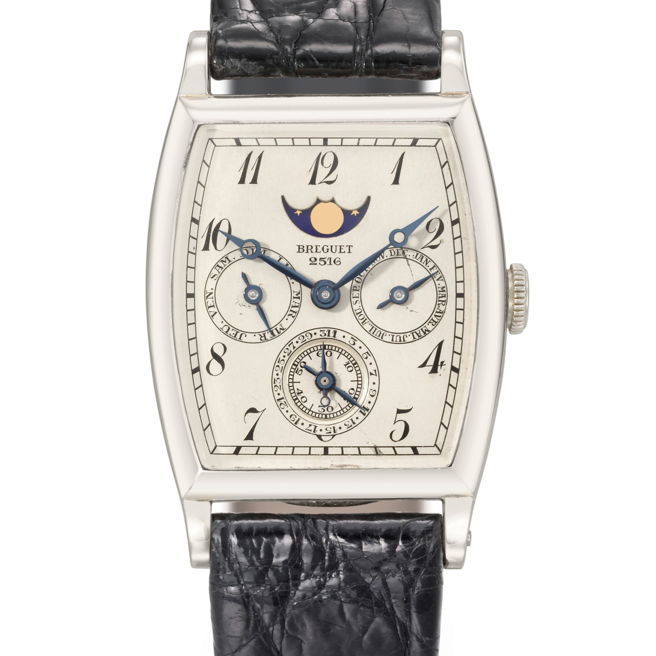 Historical Perspectives: (Possibly) The World's First Perpetual Calendar Wristwatch, From Breguet, Revisited On Leap Day 2016 Historical Perspectives: (Possibly) The World's First Perpetual Calendar Wristwatch, From Breguet, Revisited On Leap Day 2016 breguet 2516 crop