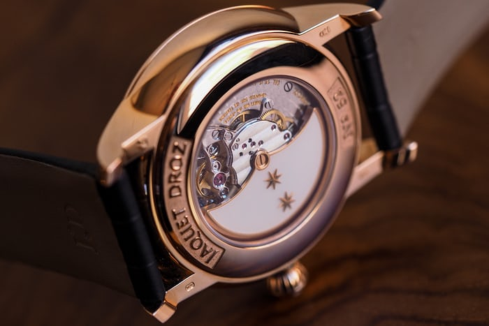 Jaquet Droz Grande Seconde Tourbillon Ivory Enamel back