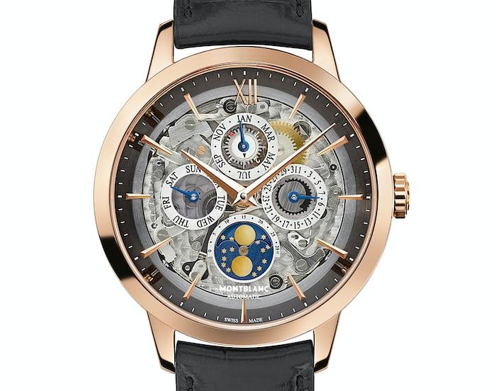 Mark Ruffalo: Montblanc Heritage Spirit Perpetual Calendar Sapphire