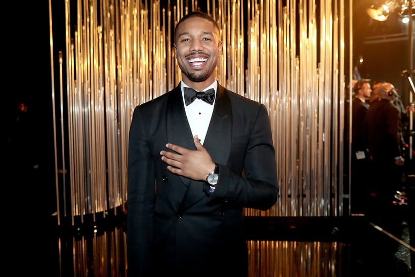 Michael B. Jordan: Piaget Altiplano 40mm Chronograph in white gold