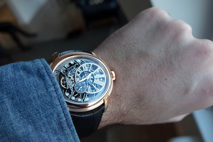 Millenary Openworked wrist shot