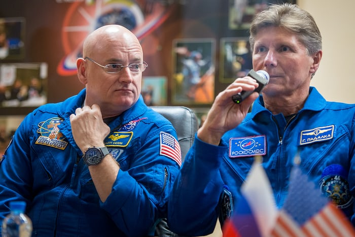 Scott Kelly Breitling Annual Calendar interview