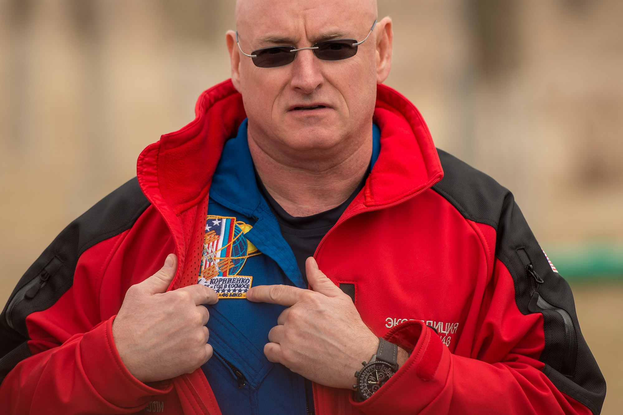 Scott Kelly Breitling Navitimer Annual Calendar The Watches Worn By NASA Astronaut Scott Kelly, Holder Of New U.S. Spaceflight Endurance Record The Watches Worn By NASA Astronaut Scott Kelly, Holder Of New U.S. Spaceflight Endurance Record 04 Expedition 43 Media Day 201503210039HQ