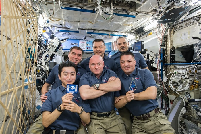 ISS Crew One Year Mission Scott Kelly
