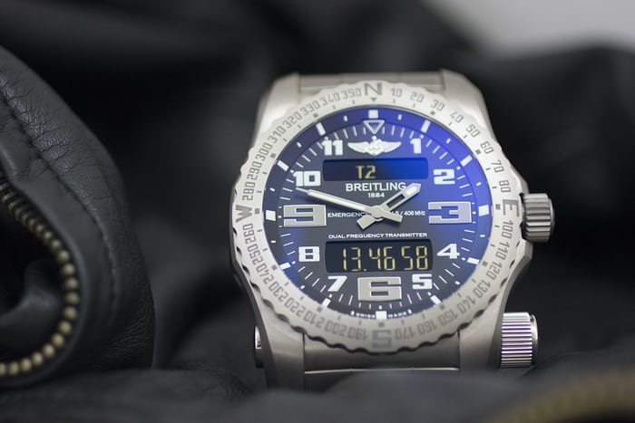 The Breitling Emergency lifestyle