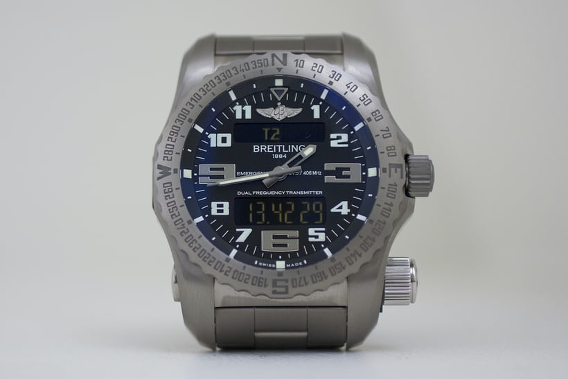 The Breitling Emergency frontal