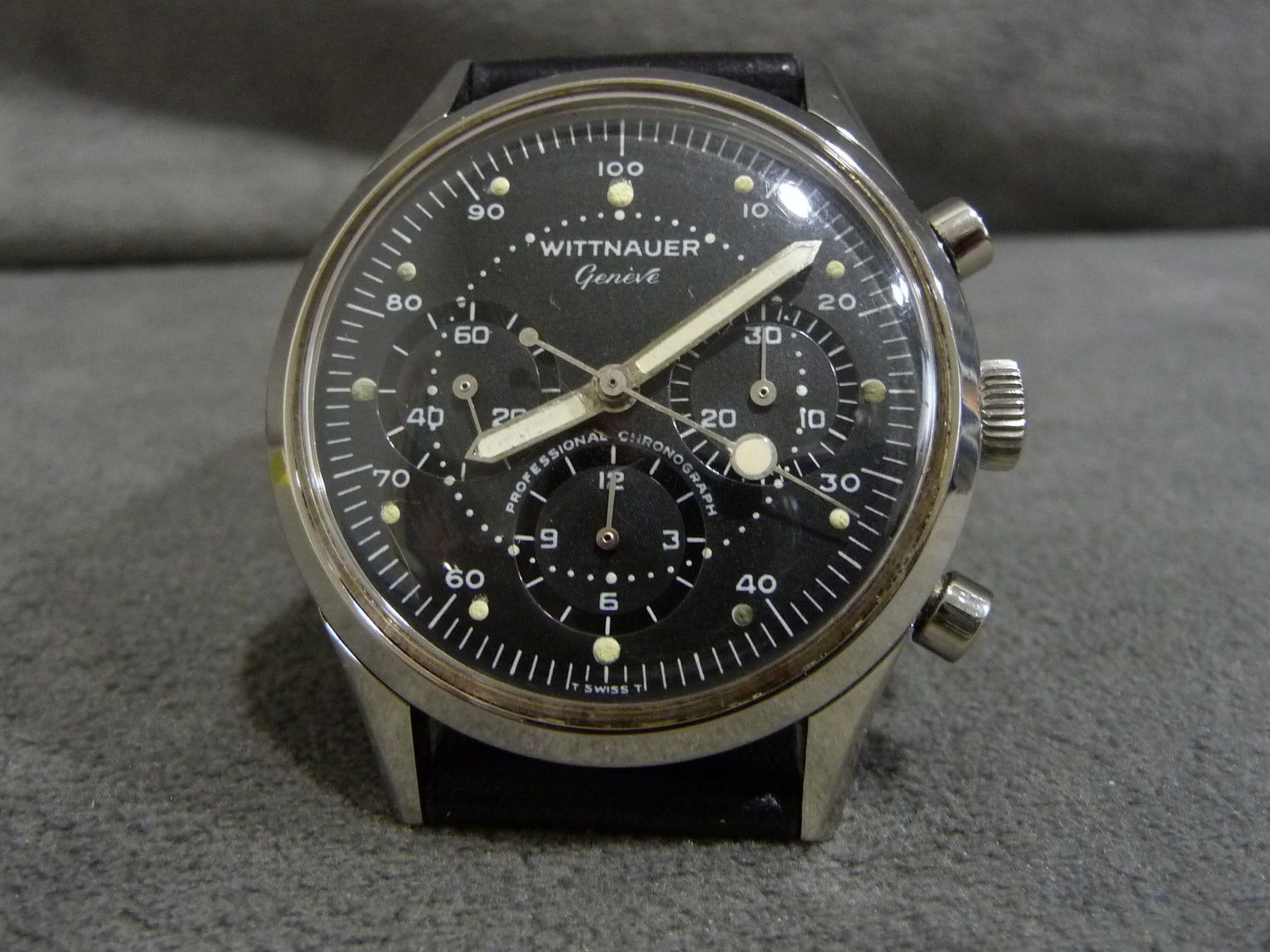 Wittnauer Professional Chronograph Reference 242T Bring a Loupe: A Rolex With Tiffany Dial, A B-Series Royal Oak With Original Papers, An Early Zenith El Primero, And Many Others Bring a Loupe: A Rolex With Tiffany Dial, A B-Series Royal Oak With Original Papers, An Early Zenith El Primero, And Many Others Wittnauer Pro chrono