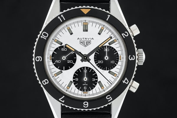 "Heuer ""Fantasy"" Autavia Ref. 2446 Transitional SN"