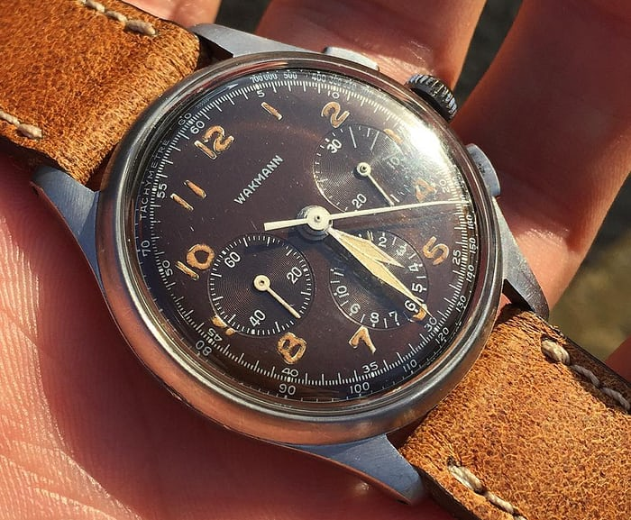 Tropical Wakmann chronograph