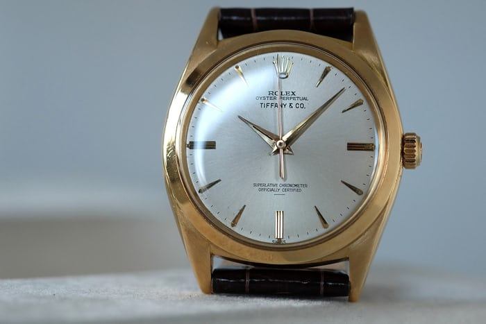 Rolex Reference 1012 Tiffany