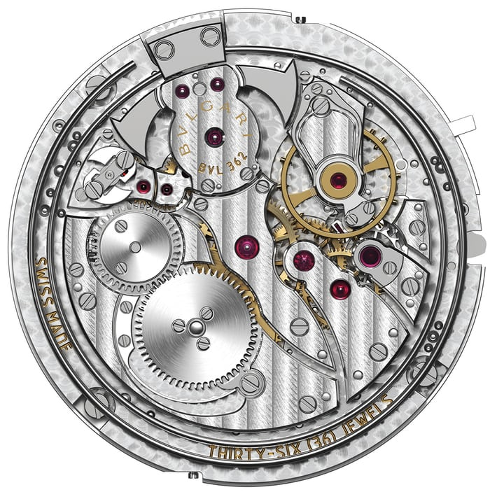 bulgari octo finissimo minute repeater movement