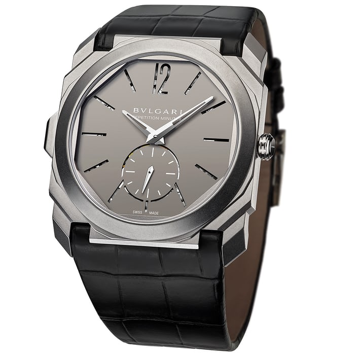 bulgari octo finissimo minute repeater dial open