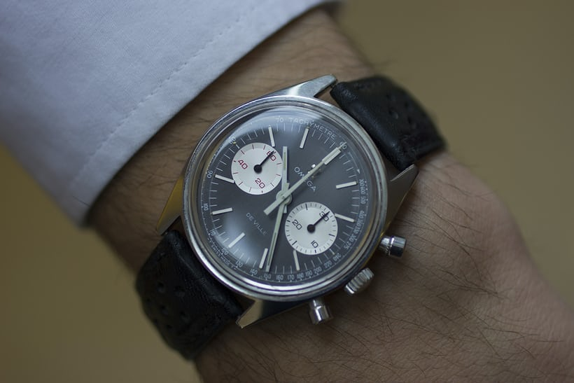 Omega DeVille Chronograph 145.017 Wristshot