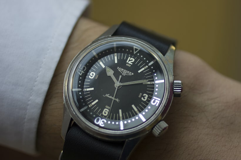 Longines Diver Reference 7494-2 Wrist Shot