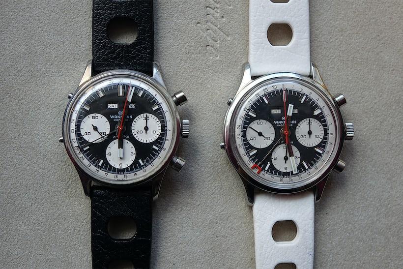 Wakmann Triple Date Chronograph