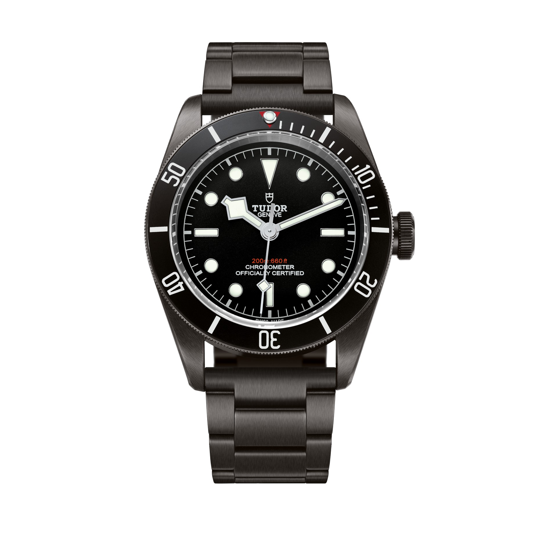 Tudor Heritage Black Bay Dark Watch at Baselworld 2016
