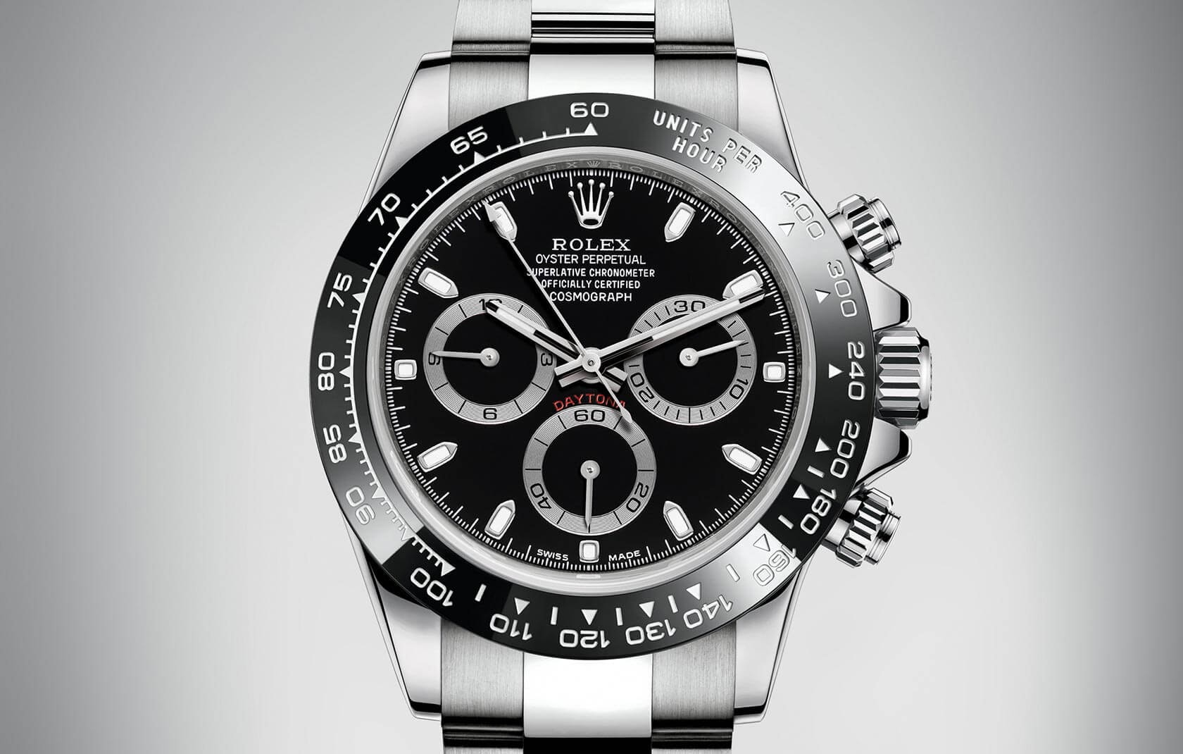 Introducing The New Rolex Daytona, Now With Black Cerachrom