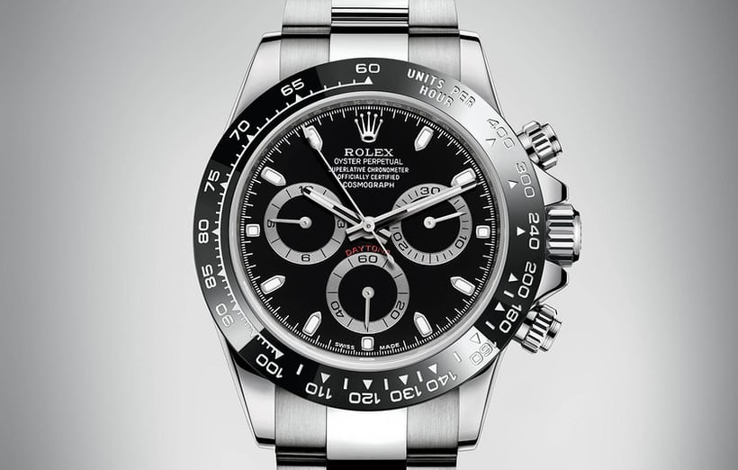 2016 Rolex Daytona Black