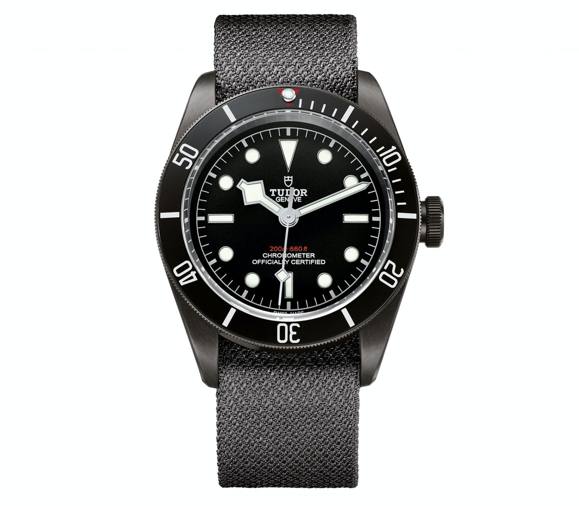 New Tudor Heritage Black Bay Dark Watch at Basel 2016