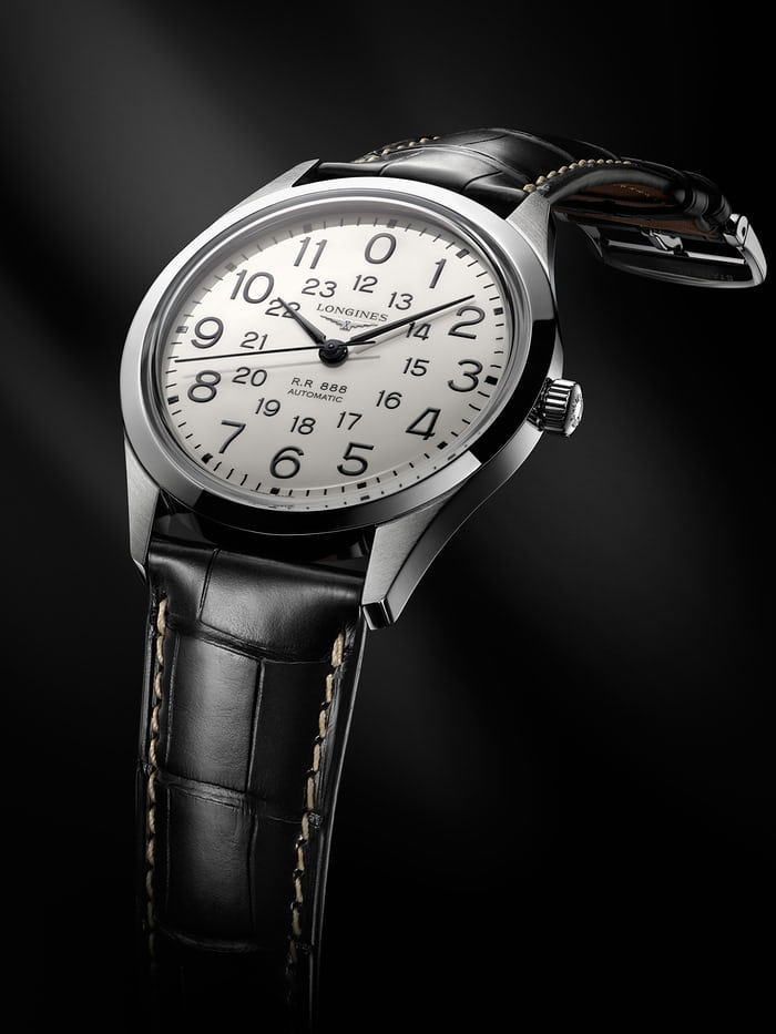 longines heritage railroad lifestyle