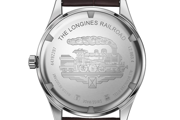 longines heritage railroad back