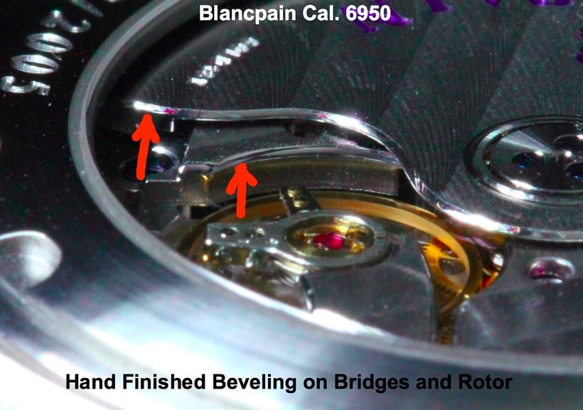 Blancpain Aqua lung Reference 2850B Movement