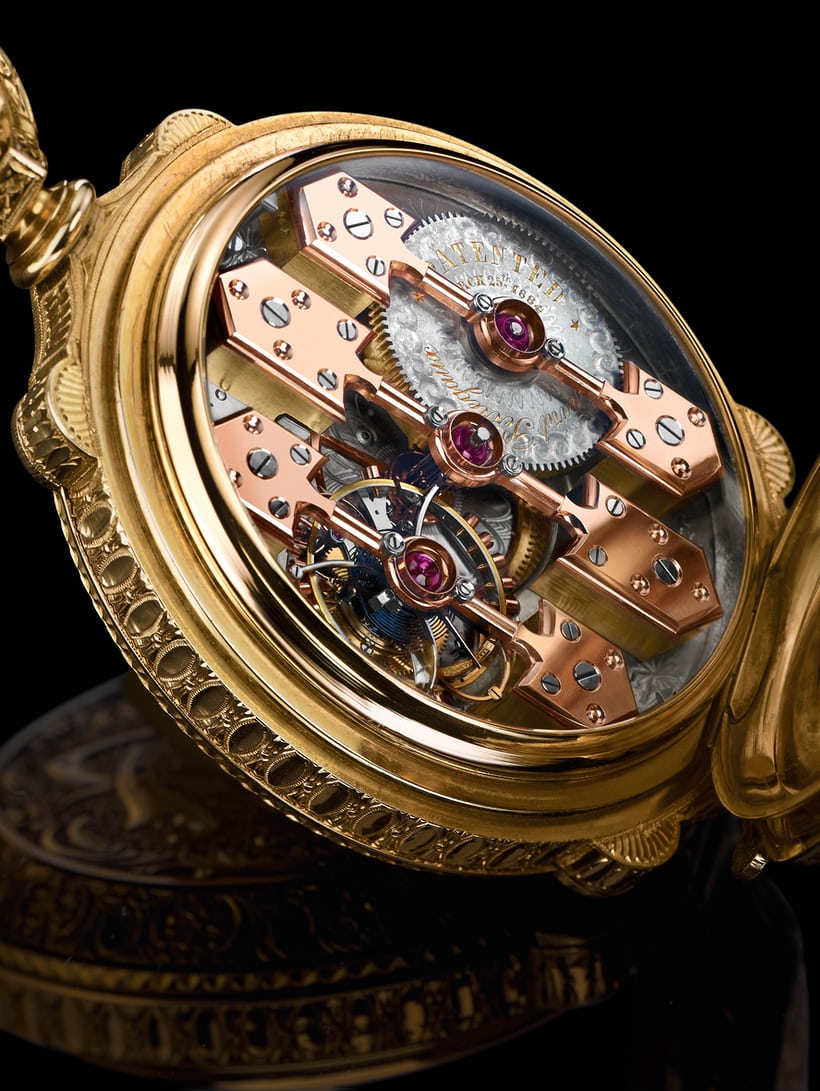la esmerelda movement closeup girard perregaux