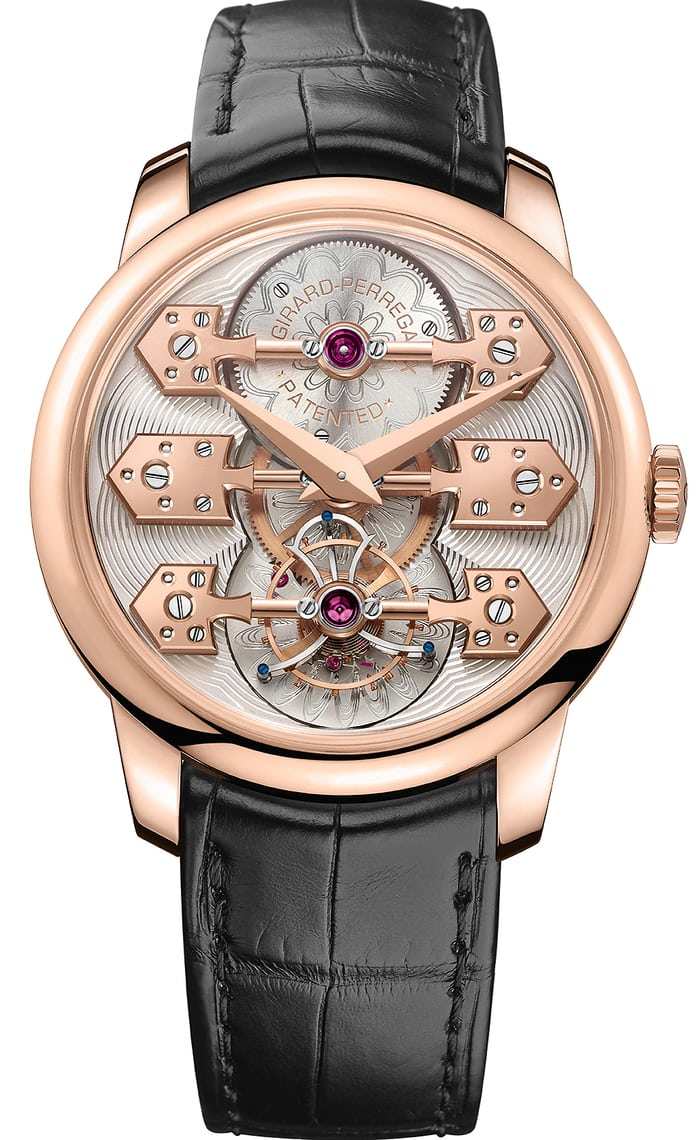 la esmeralda tourbillon wristwatch