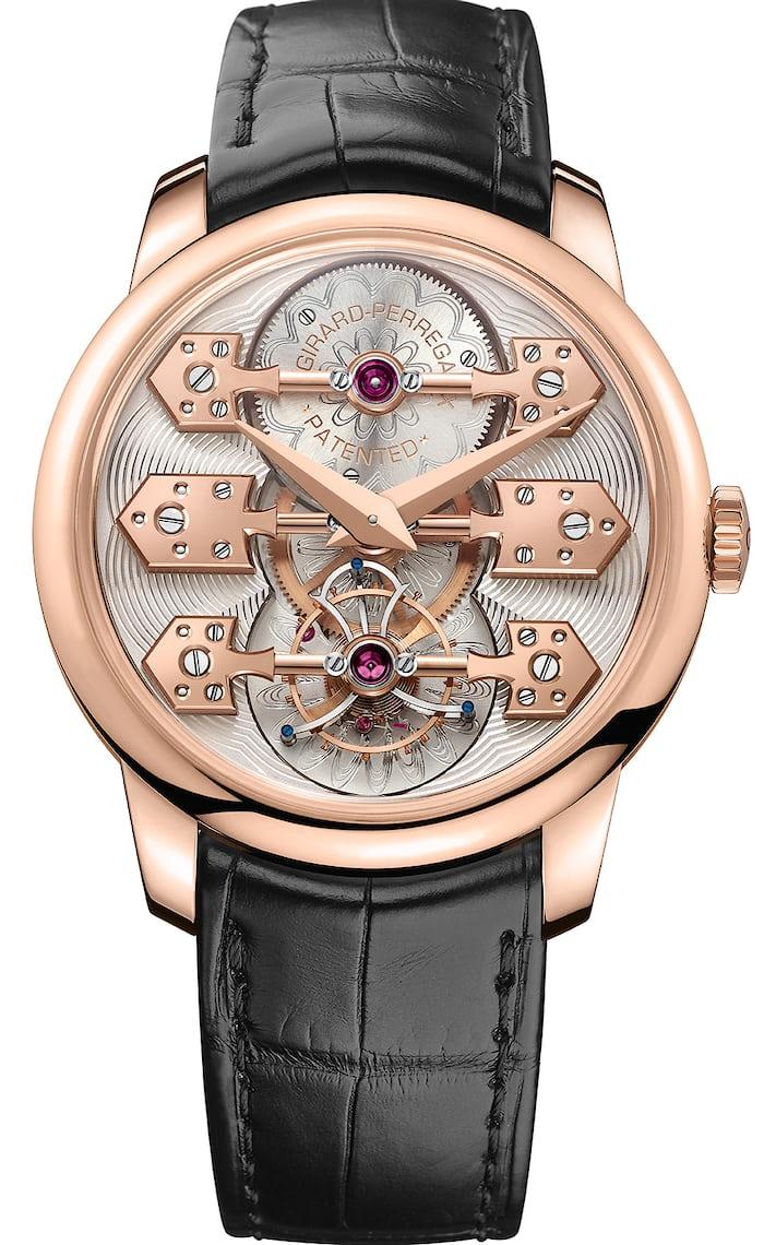 la esmeralda tourbillon wristwatch