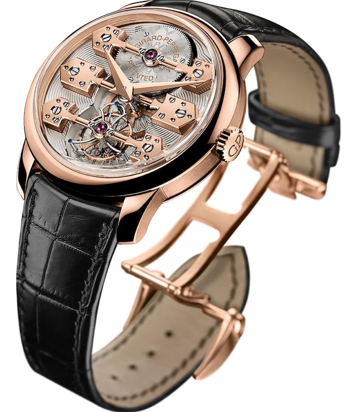 la esmeralda tourbillon wristwatch girard perregaux