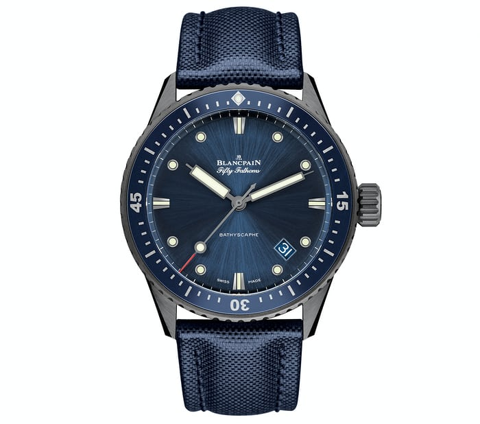 Blancpain Fifty Fathoms Bathyscaphe 2016