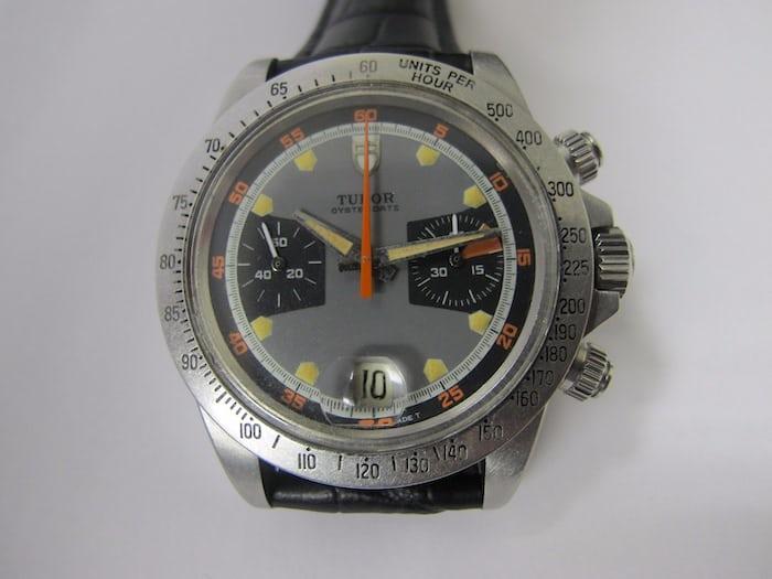 Don't bid on this fraudulent Tudor chronograph