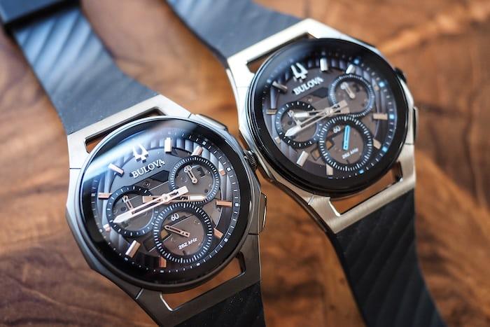 bulova curv chronograph