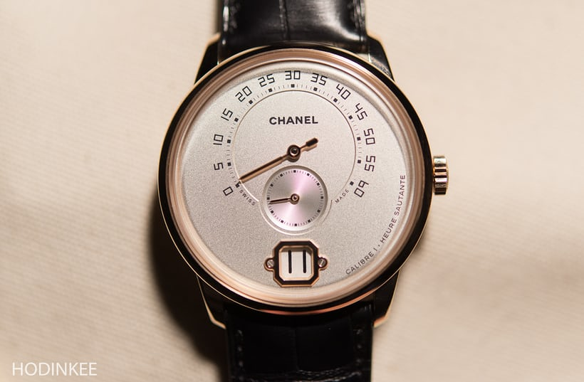 Monsieur de chanel watch