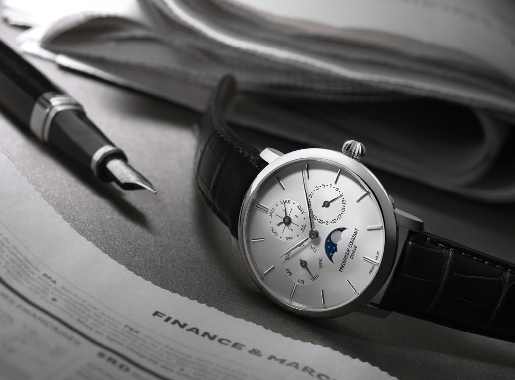 Editorial: Amid Sharp Sales Drop, TAG Smartwatch An Unexpected Hit; Patek's Stern Warns Against Erosion Of Watchmaking Values Frederique Constant 2016 Perpetual Calendar Manufacture FC 775S4S6 1
