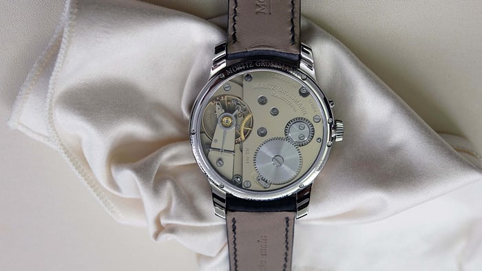 Moritz Grossman Atum Pure Steel Movement Side