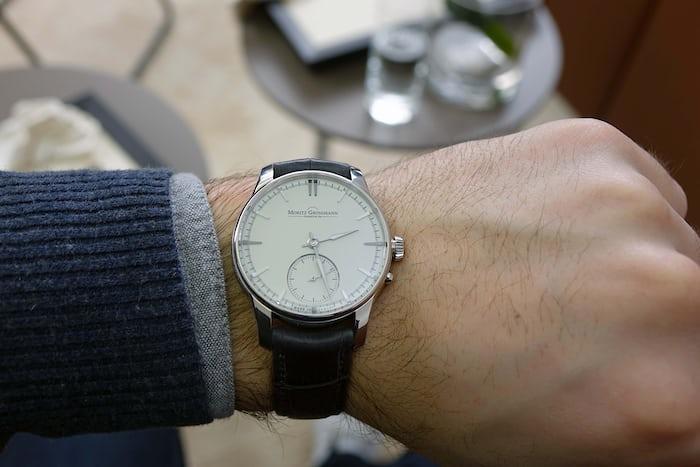Moritz Grossman Atum Pure Steel Wristshot