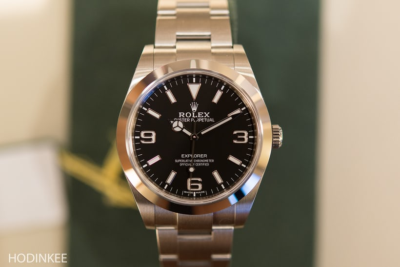 The Rolex Explorer Reference 214270